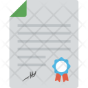 Certified Document Policy Icon