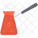Cezve Coffee Drink Icon
