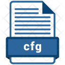 Cfg File Format Icon