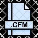Cfm File File Extension Icon