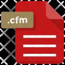 Cfm File Paper Icon