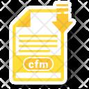 Cfm File Format Icon