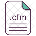 Cfm File Document Icon