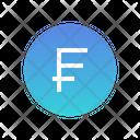 Cfp Franc Icon