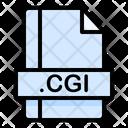Cgi File File Extension Icon