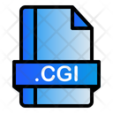Cgi Extension File Icon