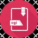 Cgi File Format Icon