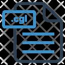 Cgi file Icon