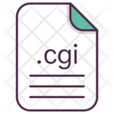 Cgi File Document Icon
