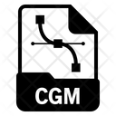 Cgm File Format Icon