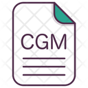 Cgm File Document Icon