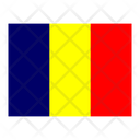 Chad Flag Flags Icon