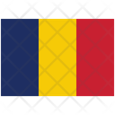 Flag Country Chad Icon