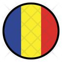 Chad Romania Nation Icon