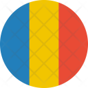 Chad Flag Country Icon
