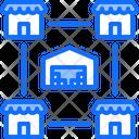 Chain Store Stock Icon