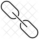 Chain Link Web Linked Icon