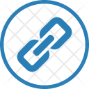 Chain Link Locked Icon