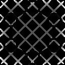 Chain Chemistry Compound Icon