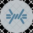 Chain Fence Lock Icon