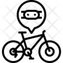 Chain Drive Mountain Icon