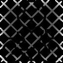 Chain Drive Woman Icon