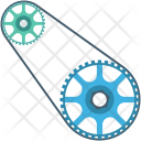 Chain Cog Gear Icon