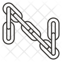 Chain Joint Merge Icon