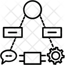 Chain Cog Cogwheel Icon