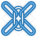 Chain System Big Data Blockchain Icon