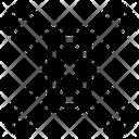 Chain System Big Data Online Icon