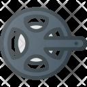 Chain-wheel Icon