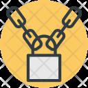 Chains Lock Padlock Icon