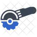 Blade Chainsaw Circular Icon