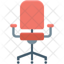 Chair Furniture Office Icon
