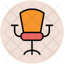 Chair Swivel Mesh Icon