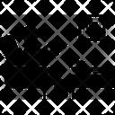 Chair Coffee Magazine Icon
