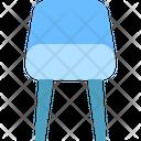 Chair Modern Furniture Icon
