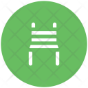 Chair Wood Desk Icon