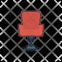 Chair Barber Salon Icon