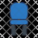 Chair Interior Wood Icon