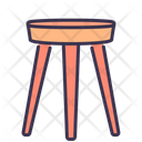 Chair Furniture Home Icon
