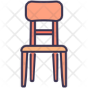 Chair Dinner Wooden Icon