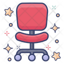 Chair Swivel Chair Seat Icon