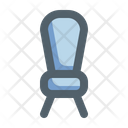 Furniture Color Outline Chair Icon