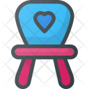 Chair Furniture Baby Icon