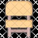Chair Furniture Armchair Icon