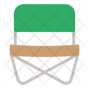 Chair Camping Hiking Icon