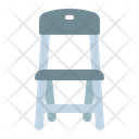 Chair Folding Furniture Icon