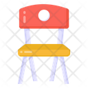 School Chair Chair Seat Icon